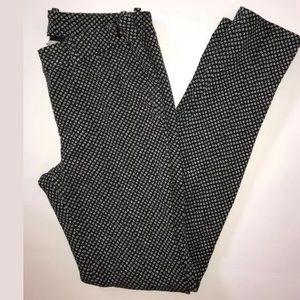 Joie Consuela Skinny Pants Legging Black Floral